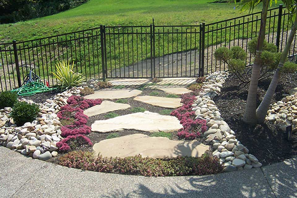 Landscaping with decorative rock bjorklund companies for Decorative landscaping rocks
